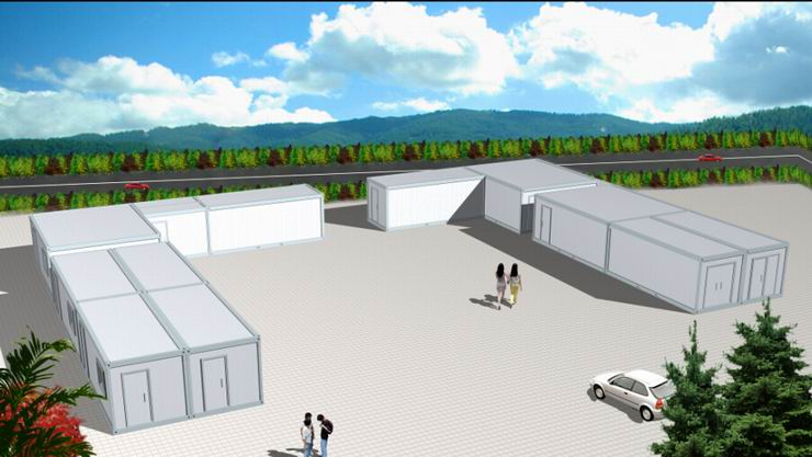 Movable Container House 20ft