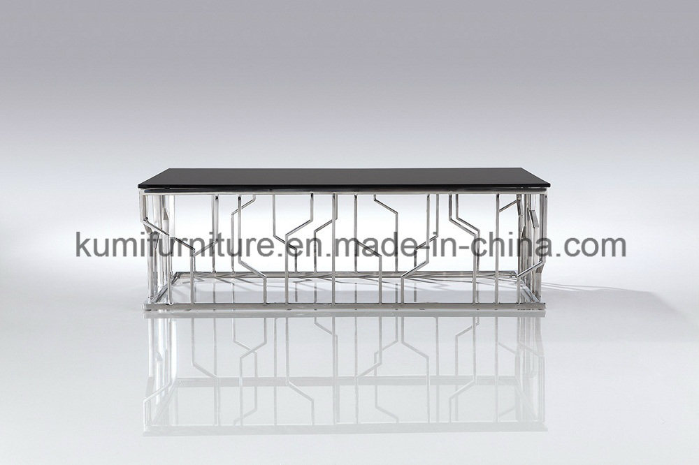 Hot Sale New Designs Coffee Table with Metal Base