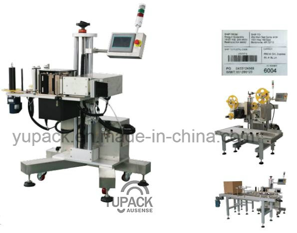 2016 Fully Automatic Online Tag Printing Labeling Machine