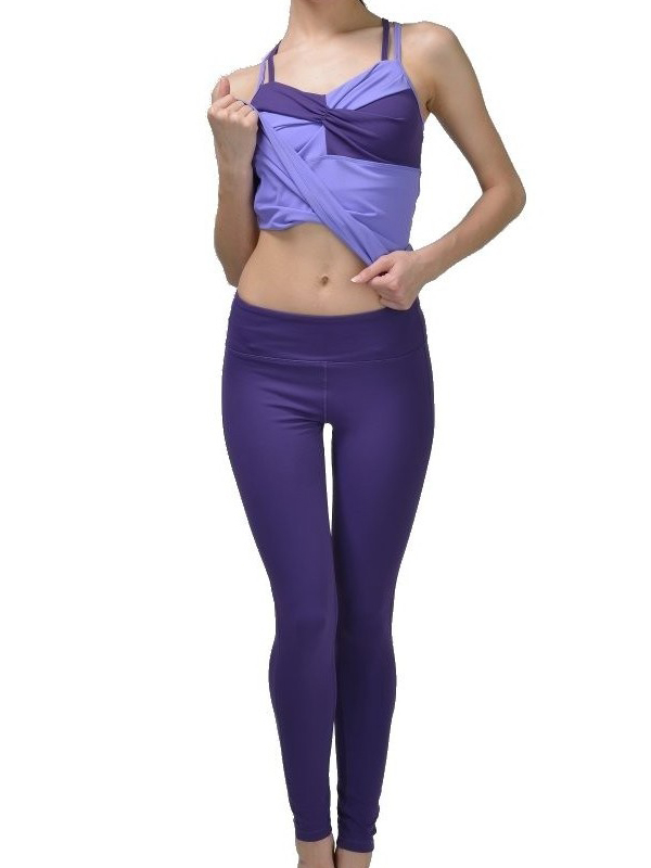 Fashion Sexy Girl Polyester Yoga Sport Legging Tight Pants