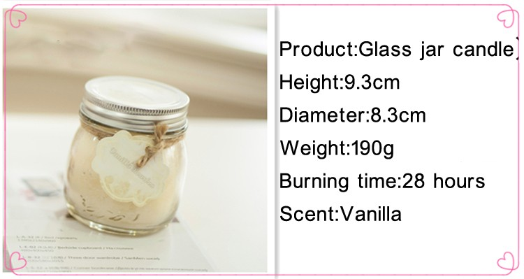 Soy Wax jar Candles