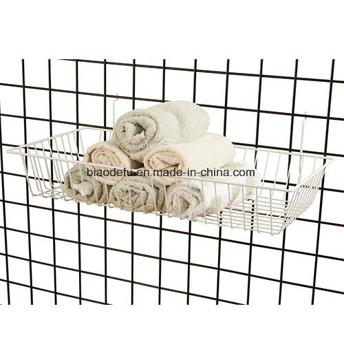 Chrome Gridwall Wire Baskets for Display