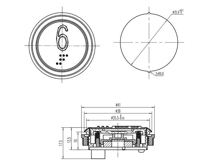 Botones de elevación de los fabricantes de piezas de botón pulsador de ascensor más nuevos