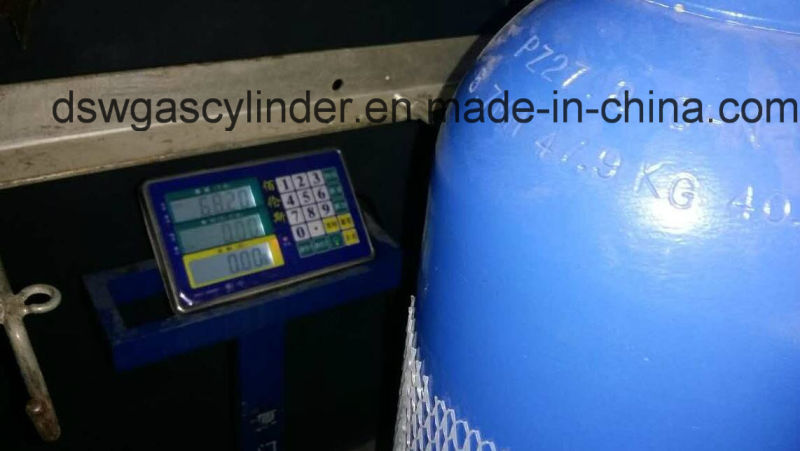 99.9% Co/N2o/H2 Gas Filled in 8L Cylinder Gas with Valve