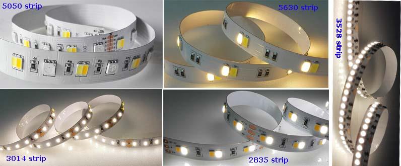 New RGB+White+Warm White LED Strip with CE, RoHS & ETL