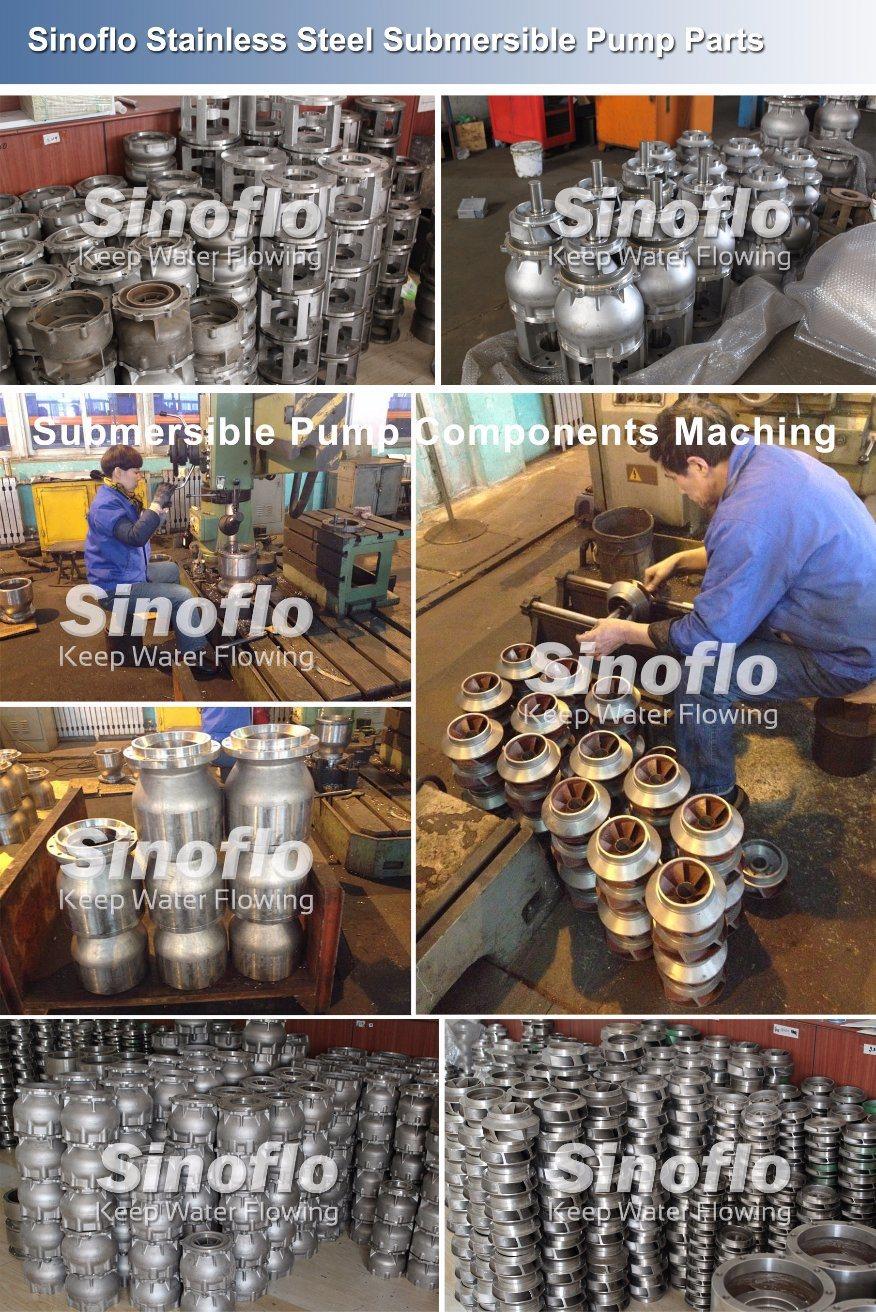 High Pressure Stainless Steel Submersible Salt Water Pump