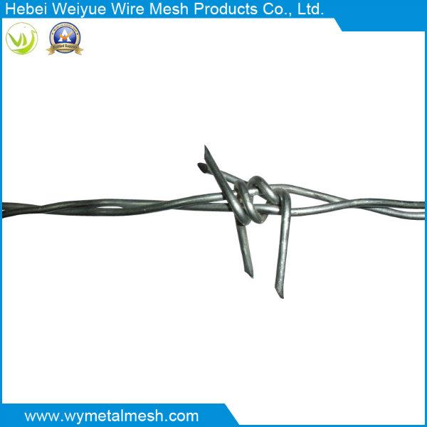 Reversed Twist Barbed Wire