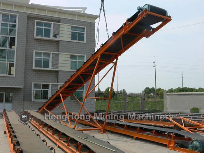 High Efficiency and High Quality Belt Conveyor