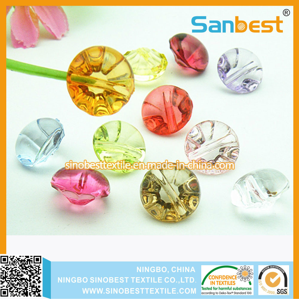 High Quanlity New Fashion Decoration Acrylic Buttons