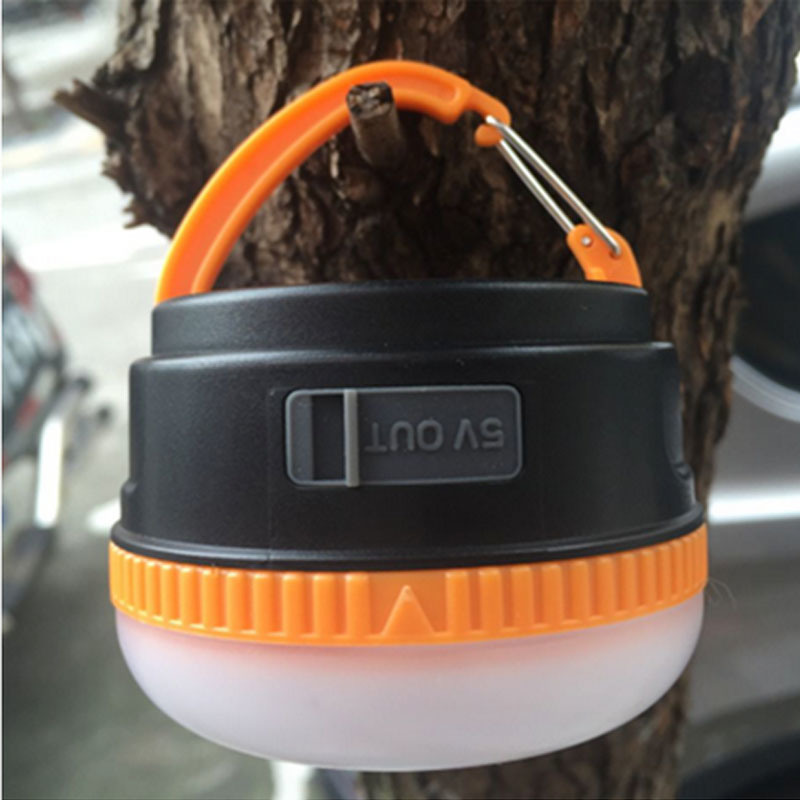 USB Rechargeable Flashlight Torch Light/ Hand Crank Hiking Jogging Charge Your Cellphone