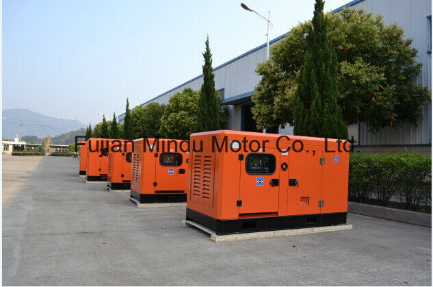 Fuel Less 30kVA Yuchai Diesel Generator Set with ATS