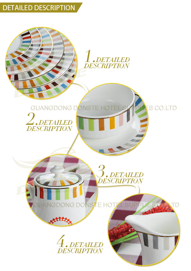 Stained Ceramic Set 20 PCS Release Color Series
