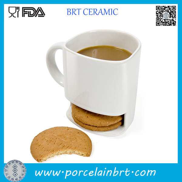 Wholesale Custom Porcelain Cookie Mug
