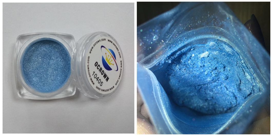 Shiny Natural Mica Color Powder Pearlescent Pigment for Car Coating, Paints, Inks