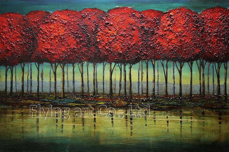 Impressionism Reproduction Oil Painting for Trees