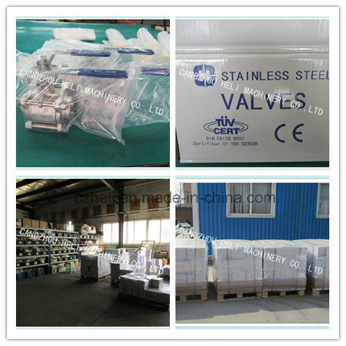 3PC Stainless Steel Threaded Ball Valve