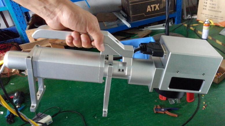 Portable Fiber Laser Marking Machine for Metal