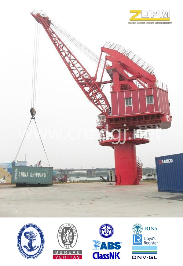 Fixed Model Single Jib Port Crane