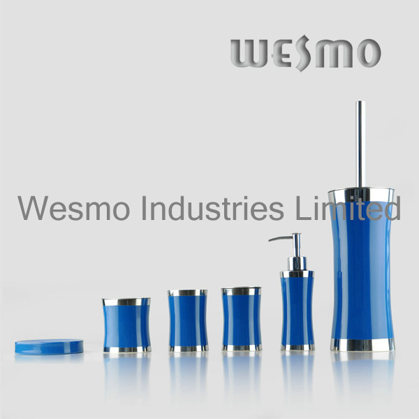 Rubber Oil Coating Stainless Steel Bath Accessory (WBS0509E)