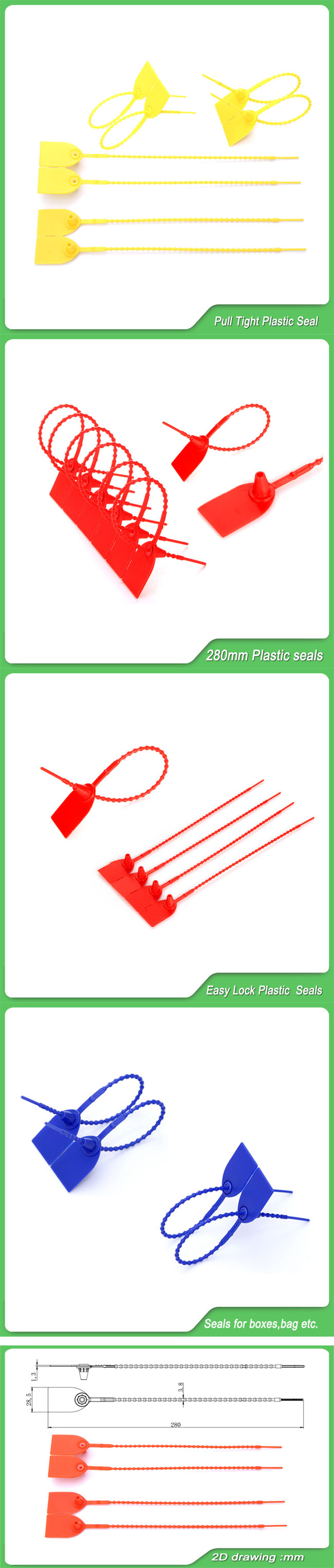 High Security Plastic Seal (JY280B)