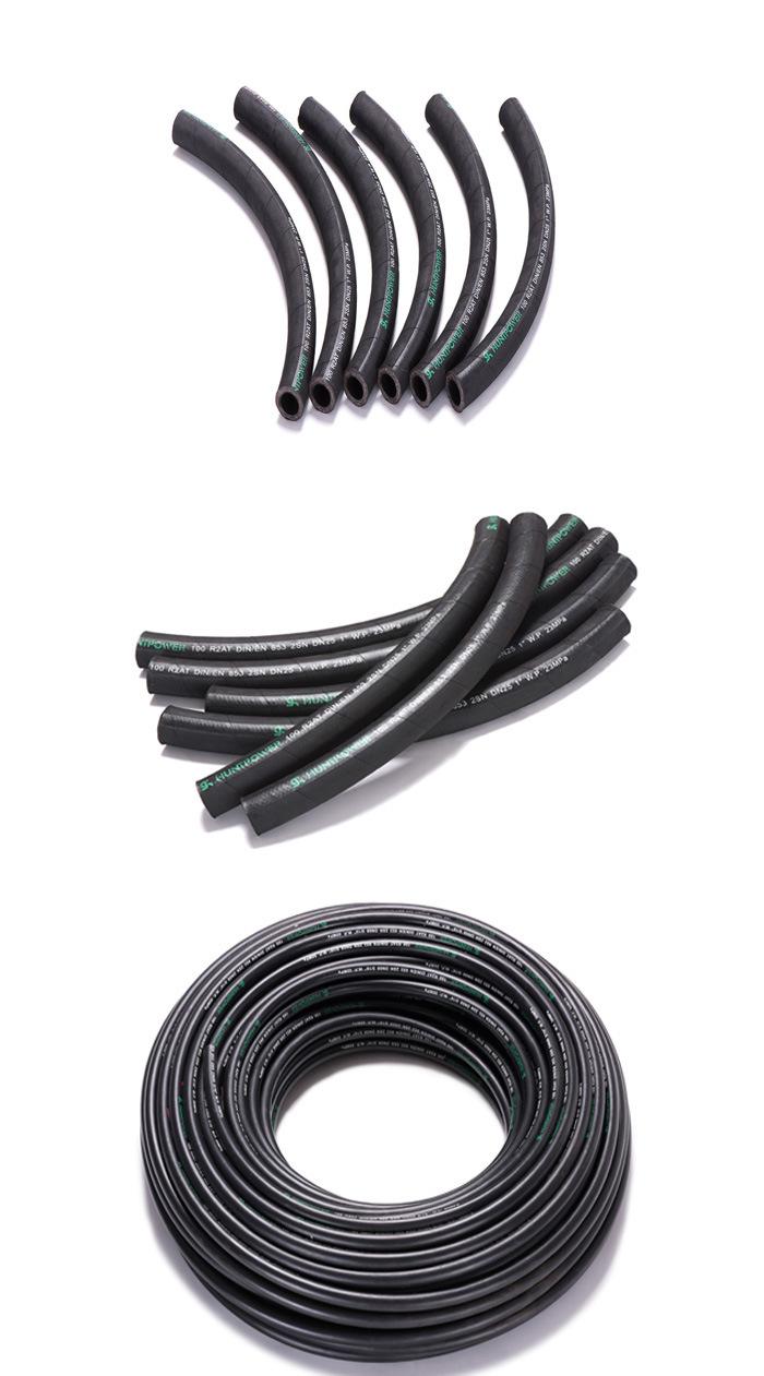 DIN/En853 High Pressure Rubber Hydraulic Hose R1 R2