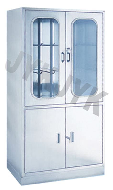 Stainless Steel Medical Apparatus Storage Cupboard Jyk-D12