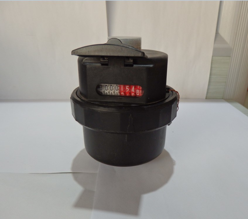 Nylon Volumetric Piston Type Water Flow Meter