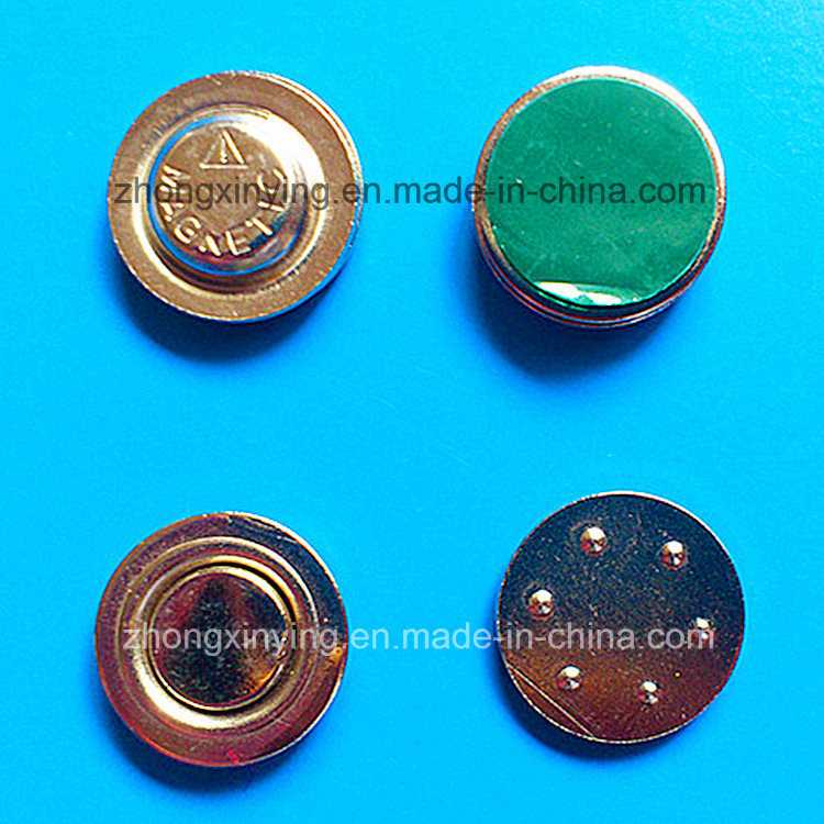 Strong Magnet Badges for Office & Industrial Use, Magnetic Pin