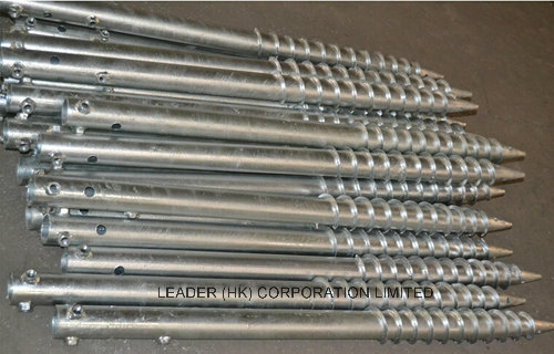 Ground Screw for Timber Construction