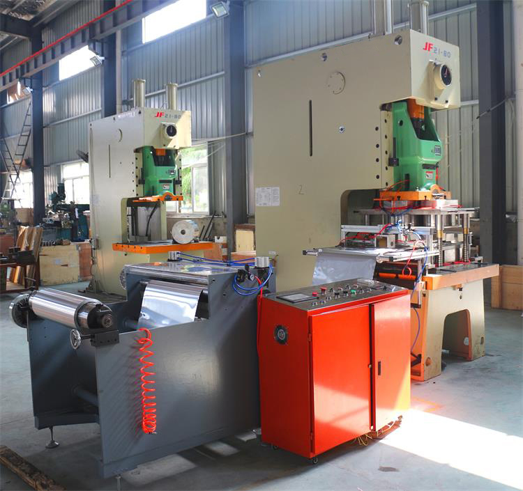 Aluminium Foil Container Making Machine Line