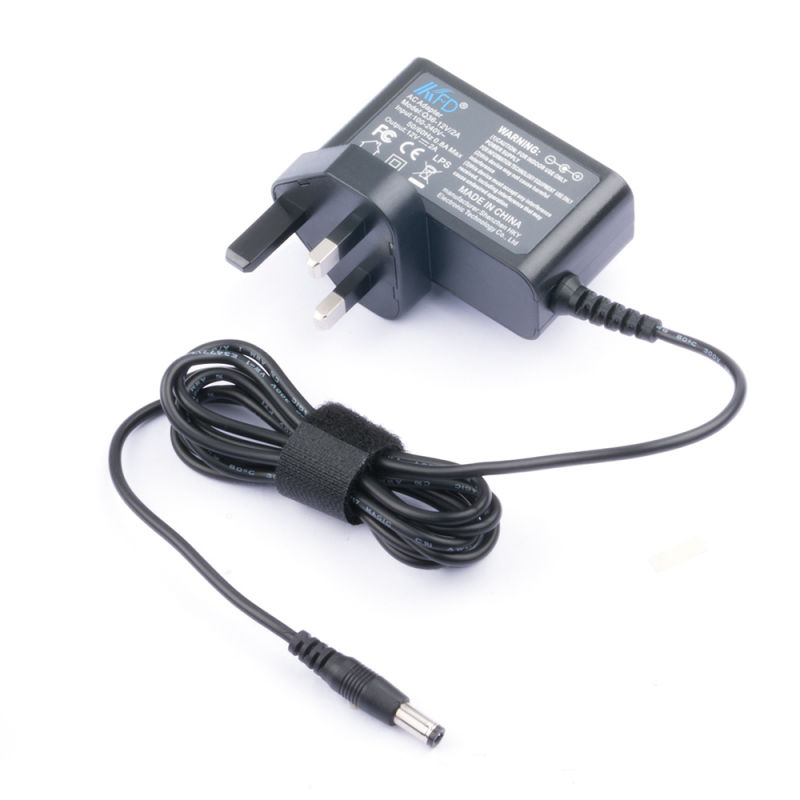 New 22V AC DC Switching Power Supply AC Adapter Charger 5.5mm X 2.5mm