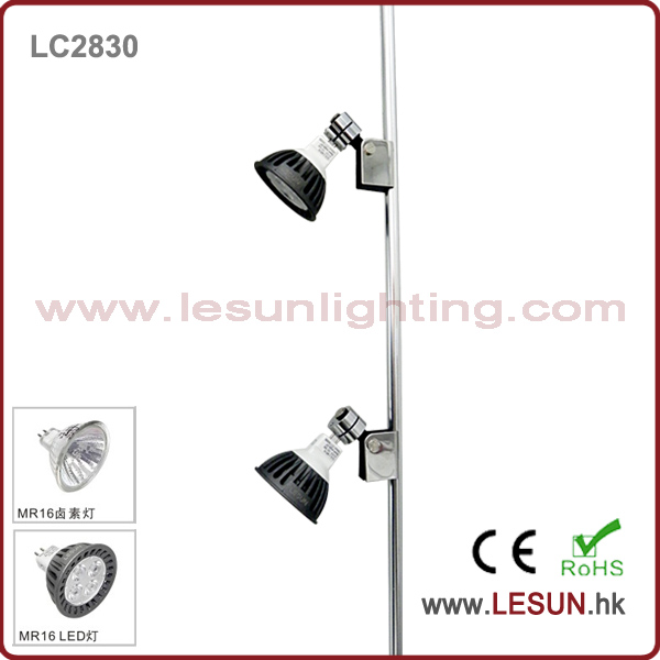 OEM Height 5W/PC 12V MR16 LED Rail Jewelry Display Light LC2830