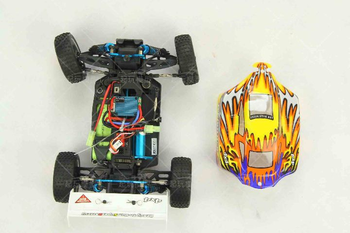Electric Power Brushless 1/16 RC Buggy