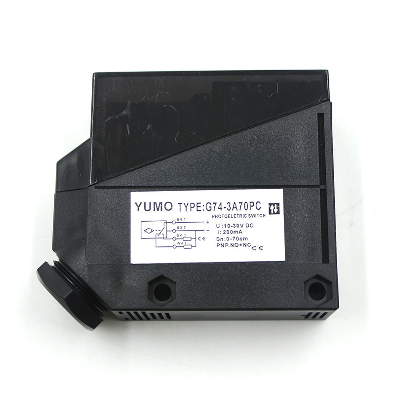Yumo G74 Squre Big Size Infraded Photoelectric Sensor