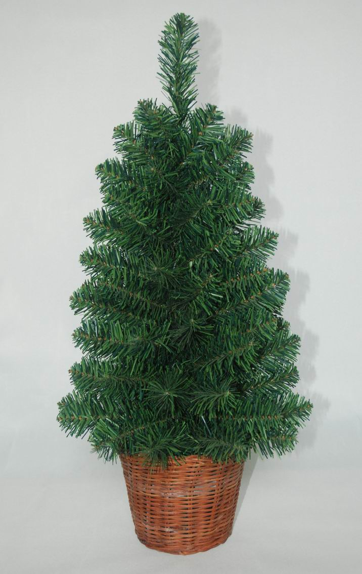 PE Realist Artificial Christmas Tree with String light Multi Color LED Decoration (AT2117)