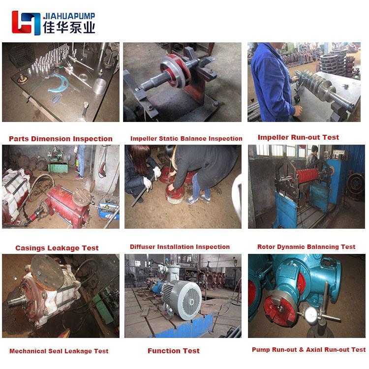Heavy Duty 40 Bar Multistage Turbine Oil Pump for Refinery