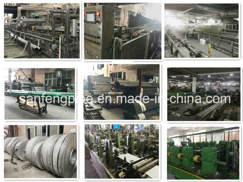 Ss 304 Polish Stainless Steel Welded Tube for Food Industry
