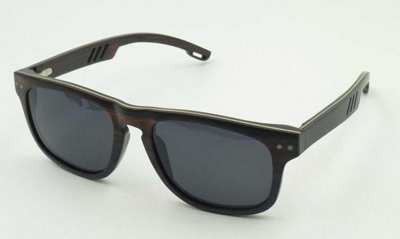 Fqw16601 High Quality Wooden Sunglasses Polarized Lens Low MOQ