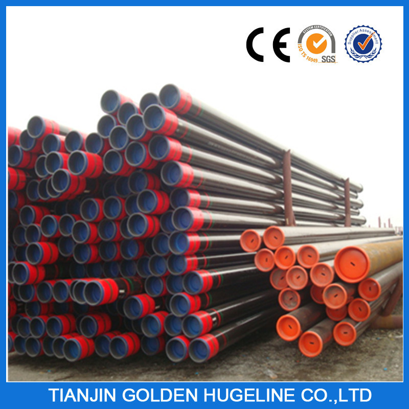 Black Round ERW Welded Pipe Steel Pipes