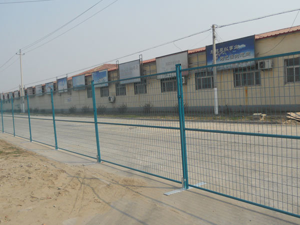 PVC Coated Welded Temporary Fence
