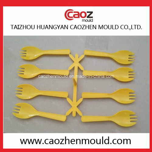 Plastic Disposable Injection Cutlery/PP Fork Mold