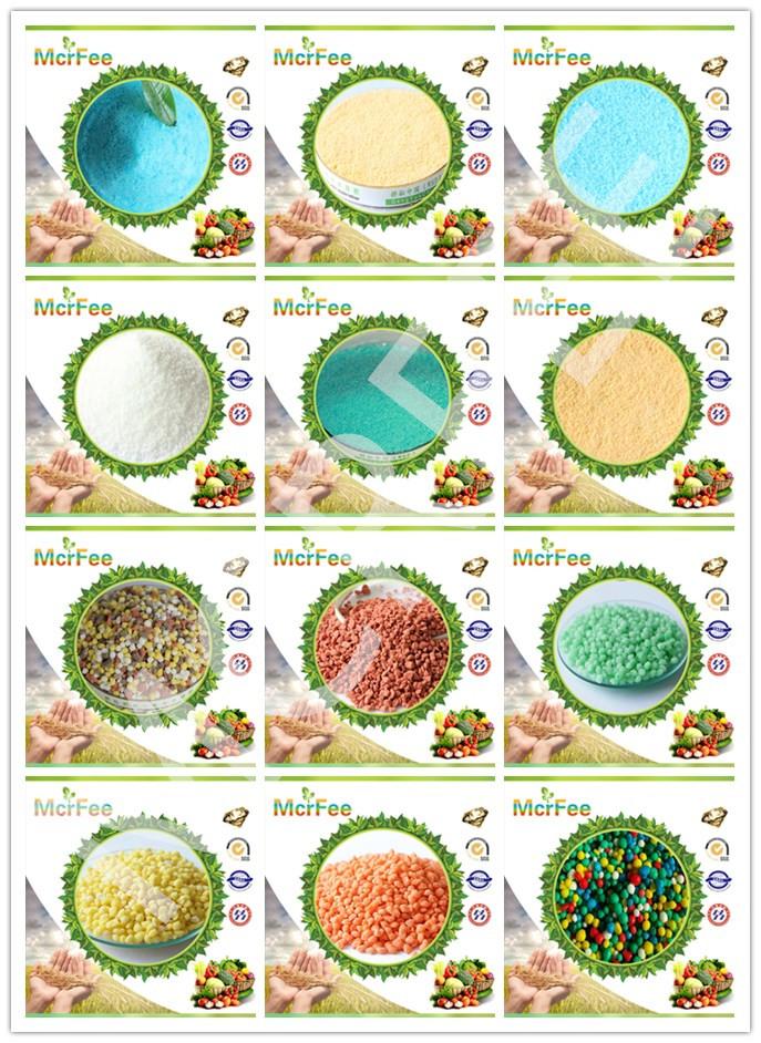 Powder 100% Water Soluble Fertilizer NPK 13-13-13+Te