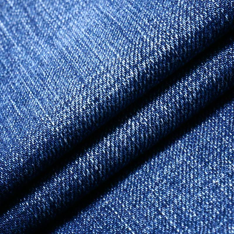 Viscose Cotton Polyester Spandex Denim Fabric for Jeans