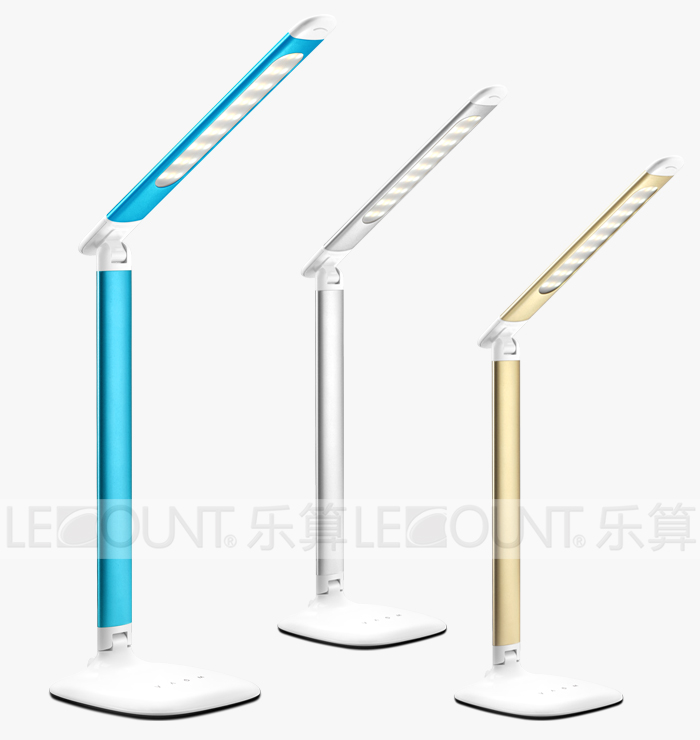 Aluminium LED Table Light with Memory Function for Brightness and Temperature (LTB730)