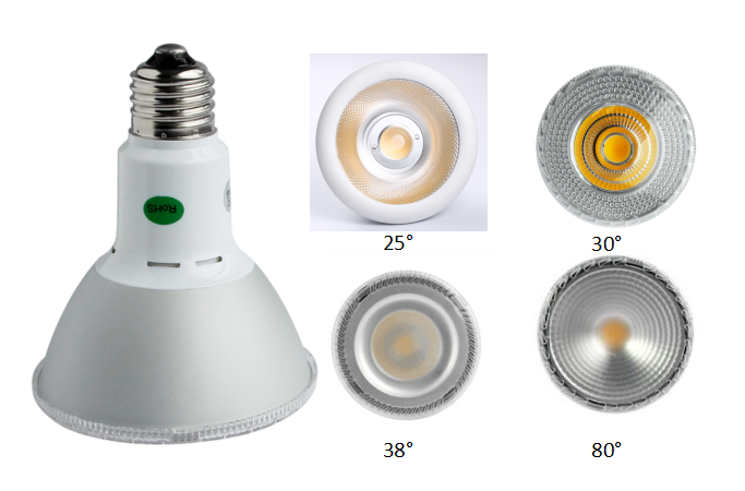 20W 1800lm LED PAR38 with ETL Energy Star