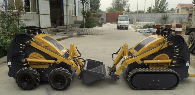 23HP Ce Mini Dumper with Pallet Fork Digger