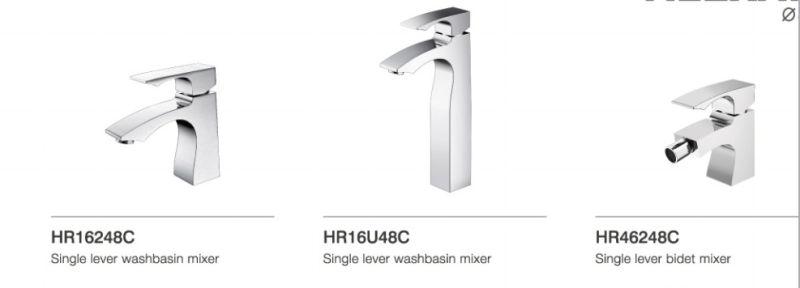 Luxury Single Lever Basin Faucet (DH33)