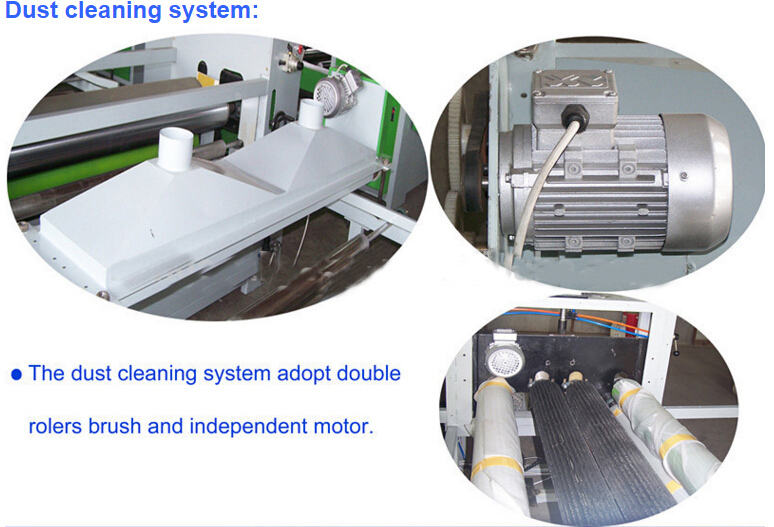 Double Sizes PVC or Paper Laminating Line