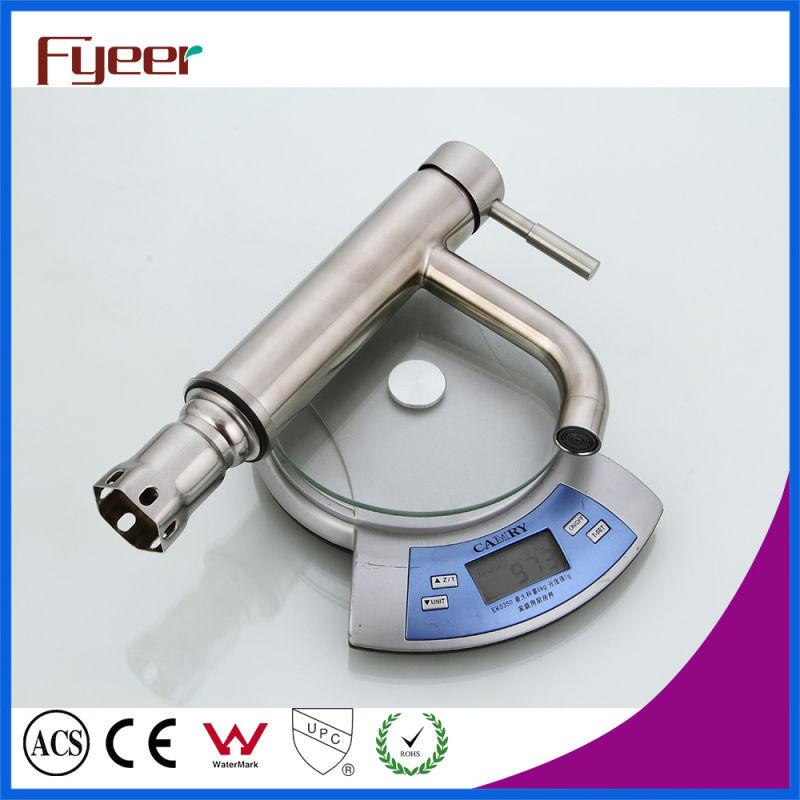 Fyeer 304 Stainless Steel Basin Faucet