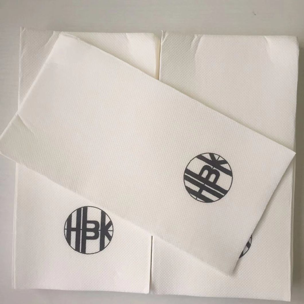 Deluxe Super Soft 1/8 Custom Printing Colored Quilted Dinner Paper Napkin